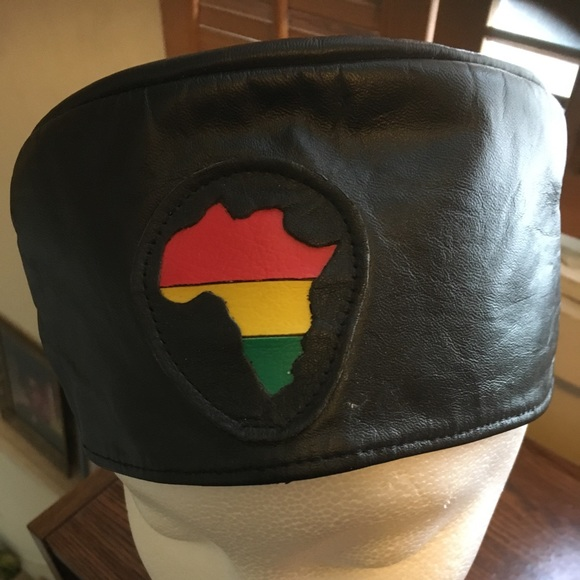Accessories - African Leather Hat
